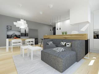 Modern living room by A+A Modern