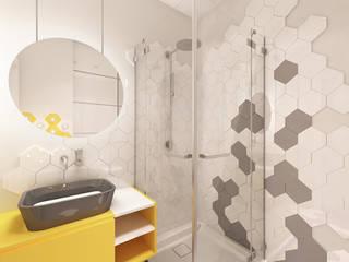 Modern bathroom by A+A Modern