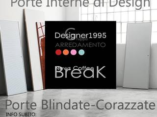 PORTE INTERNE DESIGN PER LA LIGURIA - Designer1995 Arredamentobar presenta le ultime novità Lualdi : Finestre & Porte in stile  di Designer1995  Live Work Design