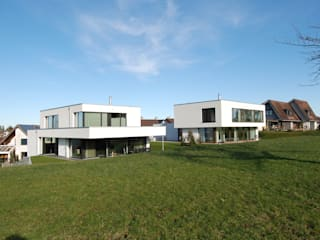 EFH in Flawil Moderne Häuser von Haueis AG Modern