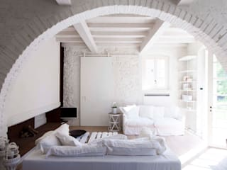 Architetto Silvia Giacobazzi Rustic style bedroom