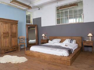 Een bed van teakhout!:   door Teak & Wood