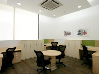Interior Project Modern office buildings by Shriji Decor Pvt. Ltd. Modern