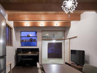 吉之丸の家 オリジナルデザインの リビング の C lab.タカセモトヒデ建築設計 オリジナル