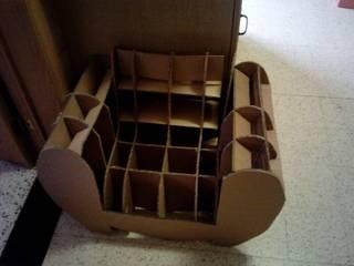 création de meubles et déco en carton par Sa'Cartouille Classique