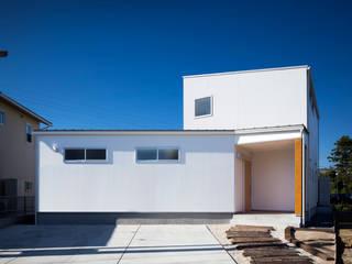 クライミングウォールのある家 オリジナルな 家 の C lab.タカセモトヒデ建築設計 オリジナル