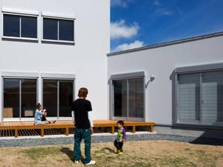 クライミングウォールのある家 オリジナルな 庭 の C lab.タカセモトヒデ建築設計 オリジナル