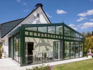 Luxuriöser Wintergarten mit dimmbaren Glas:  Wintergarten von Masson-Wawer Wintergarten GmbH