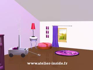 Atelier Inside Cuartos infantiles de estilo moderno