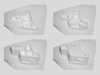 Casas minimalistas por abcg architettura Minimalista