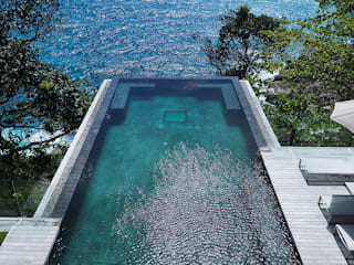 Modern pool by Original Vision Modern