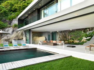 Hồ bơi phong cách hiện đại bởi Original Vision Hiện đại