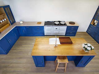 The Stiffkey Blue Kitchen Country style kitchen by NAKED Kitchens Country