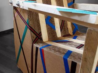 Sling Chair:  in stile industriale di Dimondo Interior Design and Furniture, Industrial