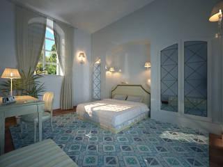 Una stanza per Villa Bonocore Maletto a Palermo di ARKTECH Classico