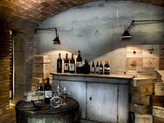 Cantina in stile in stile Industriale di dmesure