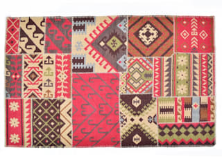 Patchwork Rugs:   by Natural Fibres Export