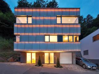 Reflecting Cube - Wohnhaus in Weinheim, Bergstrasse Moderne Häuser von Helwig Haus und Raum Planungs GmbH Modern