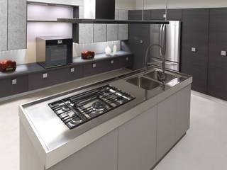 Futura Grigia: la cucina - living.:  in stile  di di donato cucine