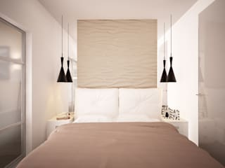 Minimalist bedroom by дизайн-бюро ARTTUNDRA Minimalist