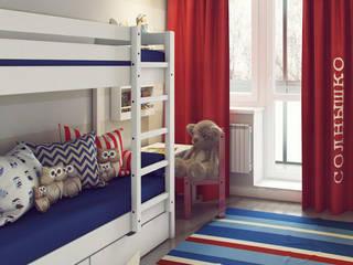 Skandinavische Kinderzimmer von Massimos / cтудия дизайна интерьера Skandinavisch
