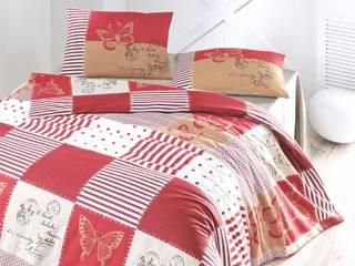 AKC eCommerce – 2015 Ranforce Nevresim Takımları: akdeniz tarzı tarz Yatak Odası