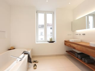Minimalist bathroom by eva lorey innenarchitektur Minimalist