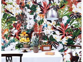 Tropical:  Living room by KSWstudio