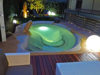 Laghetto Balneabile Rizzi Giardini - Garden & Exterior Design Piscina moderna