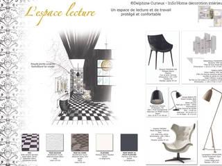 Carnet de détails espace lecture:  de style  par INSO'HOME Décoration Intérieure