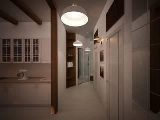 дизайн-бюро ARTTUNDRA industrial style corridor, hallway & stairs.