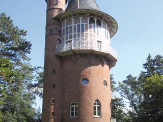 Wasserturm Waren:   von Thommes Architekten