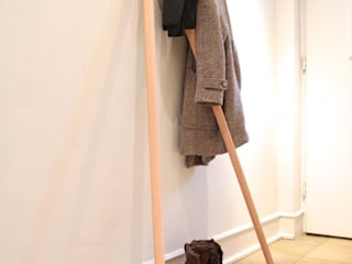 mherweg design 玄關、走廊與階梯衣架與掛勾