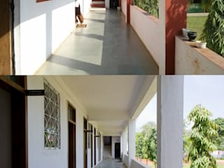 corridor - before and after:   by M+P