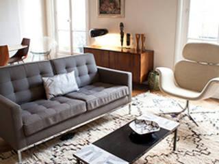 Appartement Batignolles Priscilla Martin Salon moderne