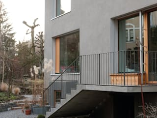 Umbau Wohnhaus Bern:  Terrasse von Halle 58 Architekten