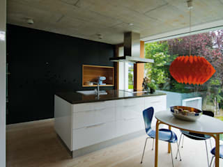 Cocinas de estilo moderno por Halle 58 Architekten