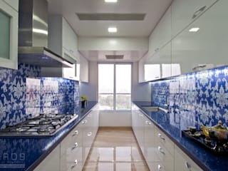 Kitchen by ZERO9, Modern