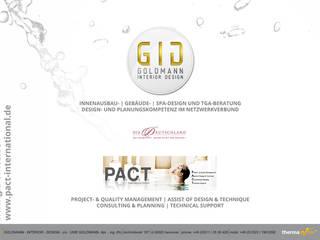 Deckblatt - Präsentation:  Hotels von GID│GOLDMANN - Innenarchitekt in Sehnde