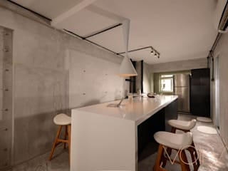 Lorong Lew Lian:  Kitchen by VOILÀ Pte Ltd