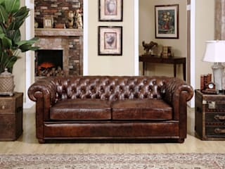 Chesterfield Sofa - A Class that Last Locus Habitat SalonesSofás y sillones