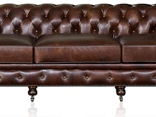The Classic Chesterfield Sofa de Locus Habitat Clásico