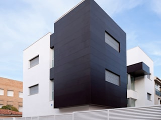 CASA MA: Casas de estilo  de SMB ARQUITECTURA