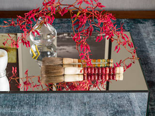Lore Arquitetura ห้องนั่งเล่นของตกแต่งและอุปกรณ์จิปาถะ