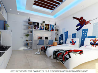 Nursery/kid's room by Neeras Design Studio