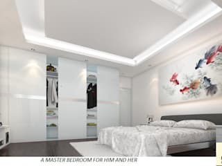 A Master Bedroom For Him And Her homify Bedroom