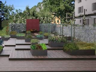 A3PAESAGGIO Mediterranean style garden