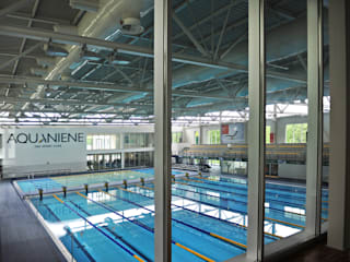 Aquaniene, centro natatorio per i Mondiali di Nuoto 2009, Roma Piscina di Luca Braguglia Studio