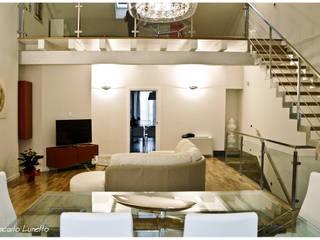 Ignazio Buscio Architetto Ruang Keluarga Modern
