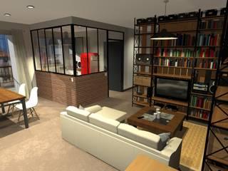 Appartement : Maisons de style  par ARtchidesign